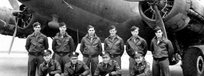 B-17 Crew in A-2 Flight Jackets