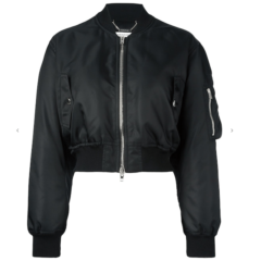 Cropped Bomber Jacket - Givenchy