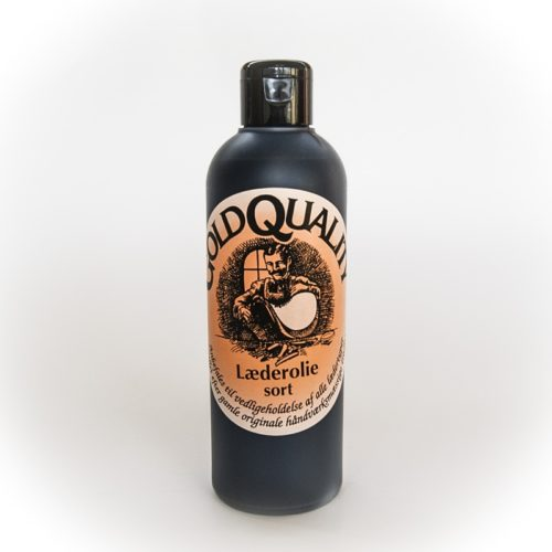 Gold Quality - Leather Oil, Black 250ml