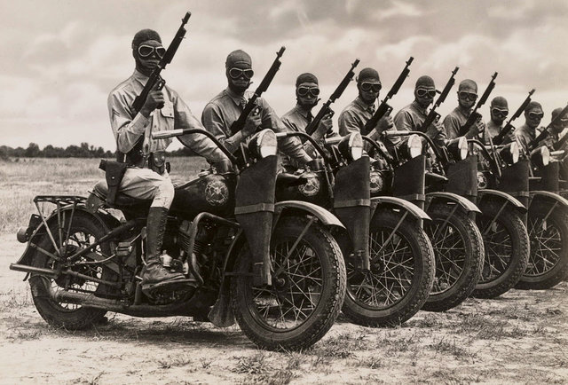 Military Motor Cycle History