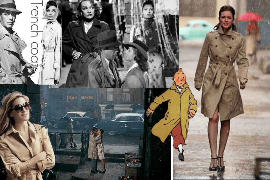 The Trench Coat in Film