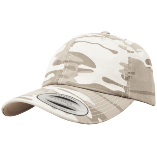 Low Profile Camo Cap - Sandstorm