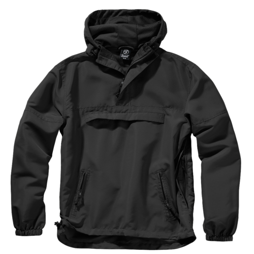 Anorak Summer Windbreaker - Black