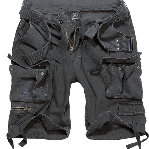 Savage Vintage Shorts - Pitch Black
