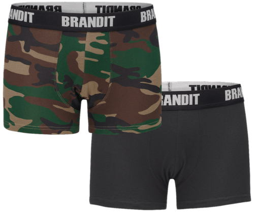Hot Trunks - Woodland / Black