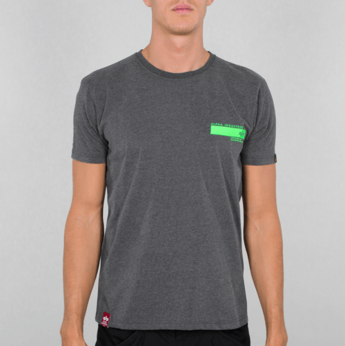 Bount Ave. Tee - Charcoal Heather