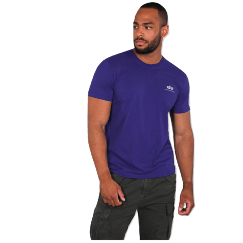 Small A Basic Tee - Deep Purple